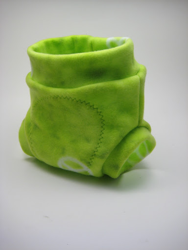 Lime Green Peace Soaker Medium