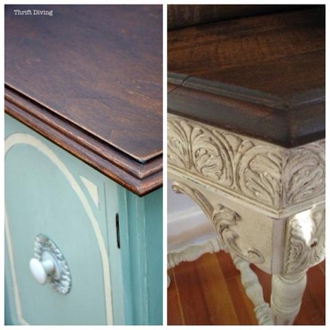 Otros usos para el sealer o barniz de autentico chalk - Barniz para chalk paint ...