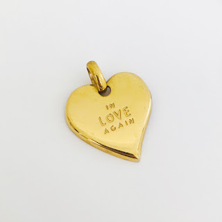 Yves Saint Laurent In Love Again Heart Pendant