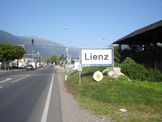 Lienz - ostatnie wielkie miasto przed ITALIĄ :)
