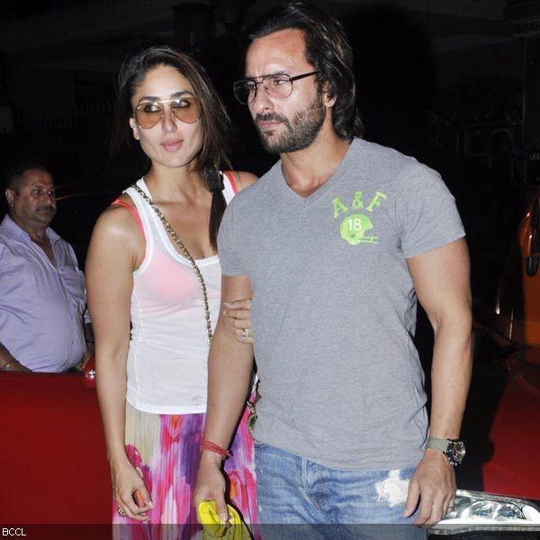 Kareena Kapoor Arrives Her Husband Saif Ali Khan For Kunal Khemu