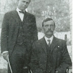 left: Clyde Gleaves, preacher,  right: James Leslie McMurray.