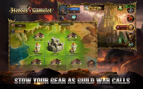 Heroes of Camelot- screenshot thumbnail