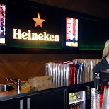 Heineken bar at the Ziggo Dome Freaqshow 2013 in Amsterdam, Noord Holland, Netherlands