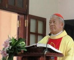 Đức Hồng Y Nguyễn Văn Nhơn thăm và huấn đức Lớp Tu Đức tại Phát Diệm