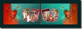 Digital album photo templates 9
