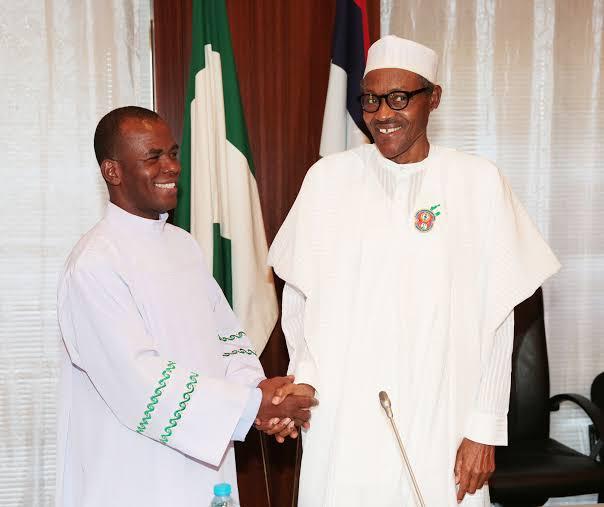 Mbaka: God Told Me Buhari Is A Saviour! No Religious Discrimination (Throwback)