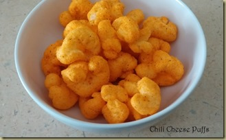 Chili Cheese Puffs - Thoughts in Progress