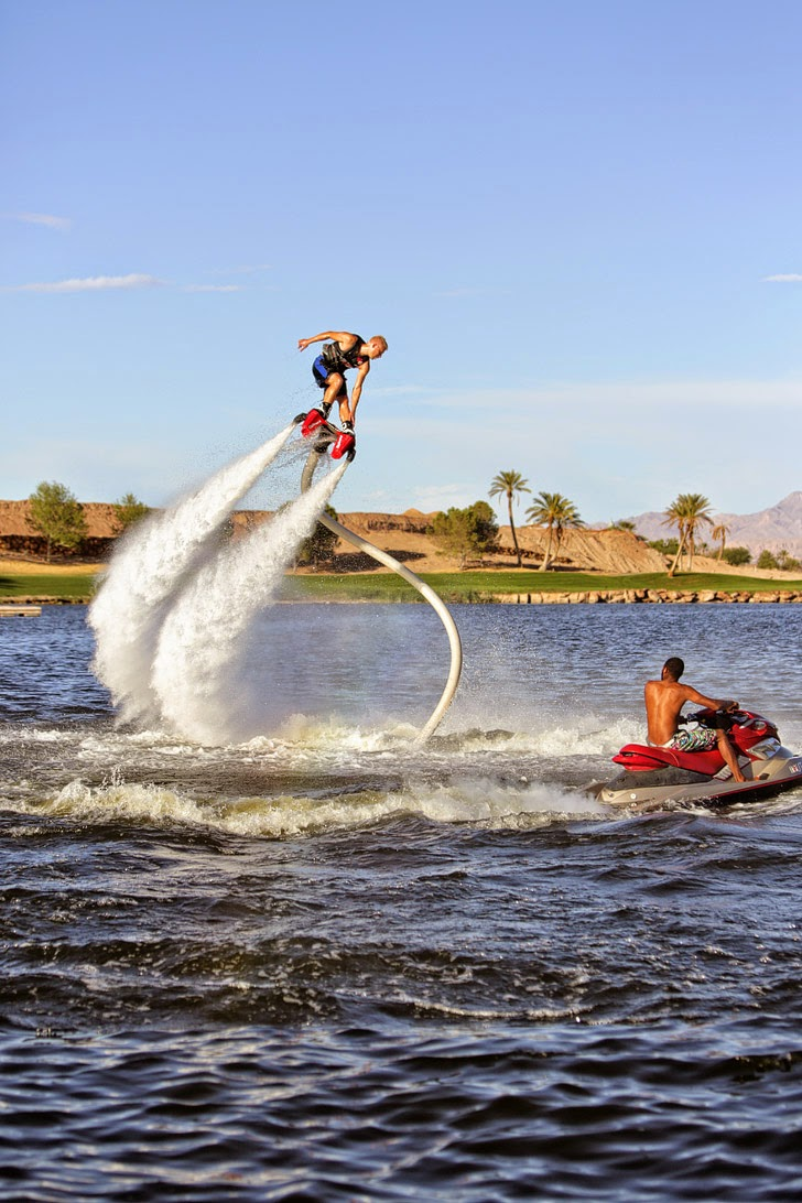 Las vegas to do list: Flyboard Las Vegas.