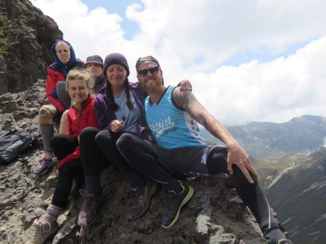 climbing volcano Pichincha