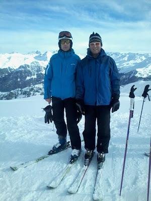 Florian und Klaus auf dem Gipfel der Träume