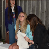 OIC - ENTSIMAGES.COM - Diana Vickers and Amber Atherton at the London College of Fashion BA graduate exhibition in London 8th June 2015 Photo Mobis Photos/OIC 0203 174 1069