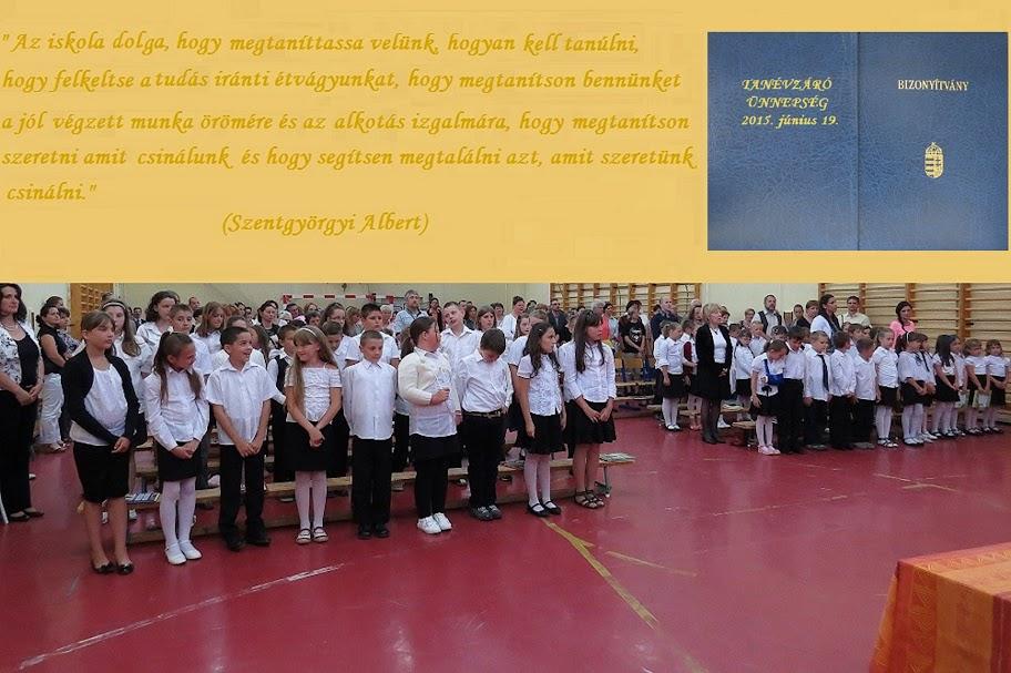 Kosd - Iskola - tanévzáró ünnepség
