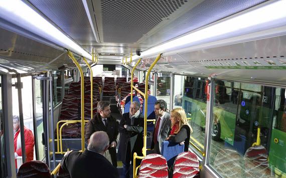 5 nuevos autobuses híbridos para Collado Villalba