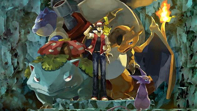 Badass Pokemon Master Red - Google+