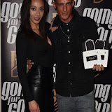 OIC - ENTSIMAGES.COM - Rachel Christie and Tay Tay Starhz of Franklin Lake Band at the  Going for Gold magazine launch party in London 19th January 2015 Photo Mobis Photos/OIC 0203 174 1069