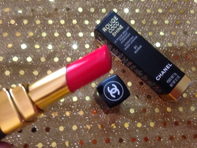 Chanel Rouge Coco Shine (91) Boheme