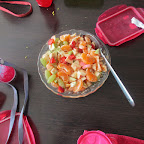 Fruit Salad & Show and Tell Activity (Sr.KG. A & B) 13-2-2017