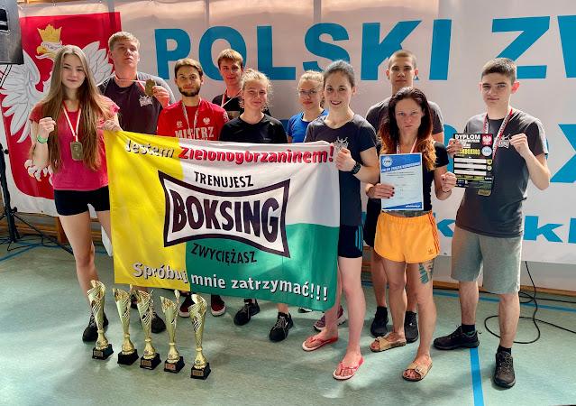 kickboxing,ZielonaGór,sport,Mistrzostwa,PZKB,Szczecinek,FullContact,5xzłoto