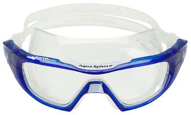 Aqua Sphere Vista Pro Goggles - Transparent Blue/White with Clear Lens alternate image 2