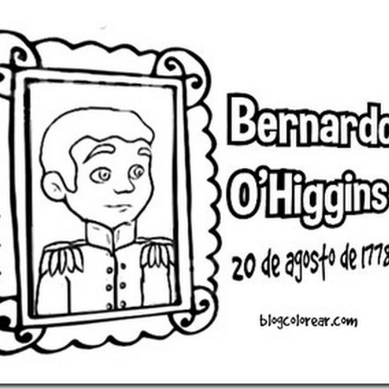 Dibujos de Bernardo O'Higgins para pintar
