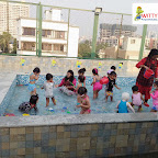 Waterplay activity by Playgroup Section at Witty World, Bangur Nagar (2018-2019)