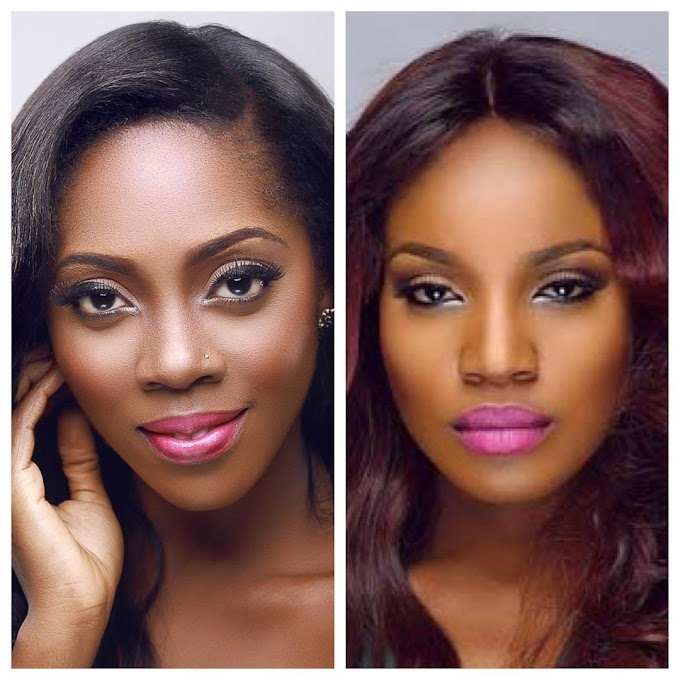 """""""Your Nyash Is The Dirtiest In This Industry"""" Seyi Shay & Tiwa Savage Fight Dirty (Watch Video)"""