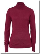 Basler wool and silk roll neck - other colours