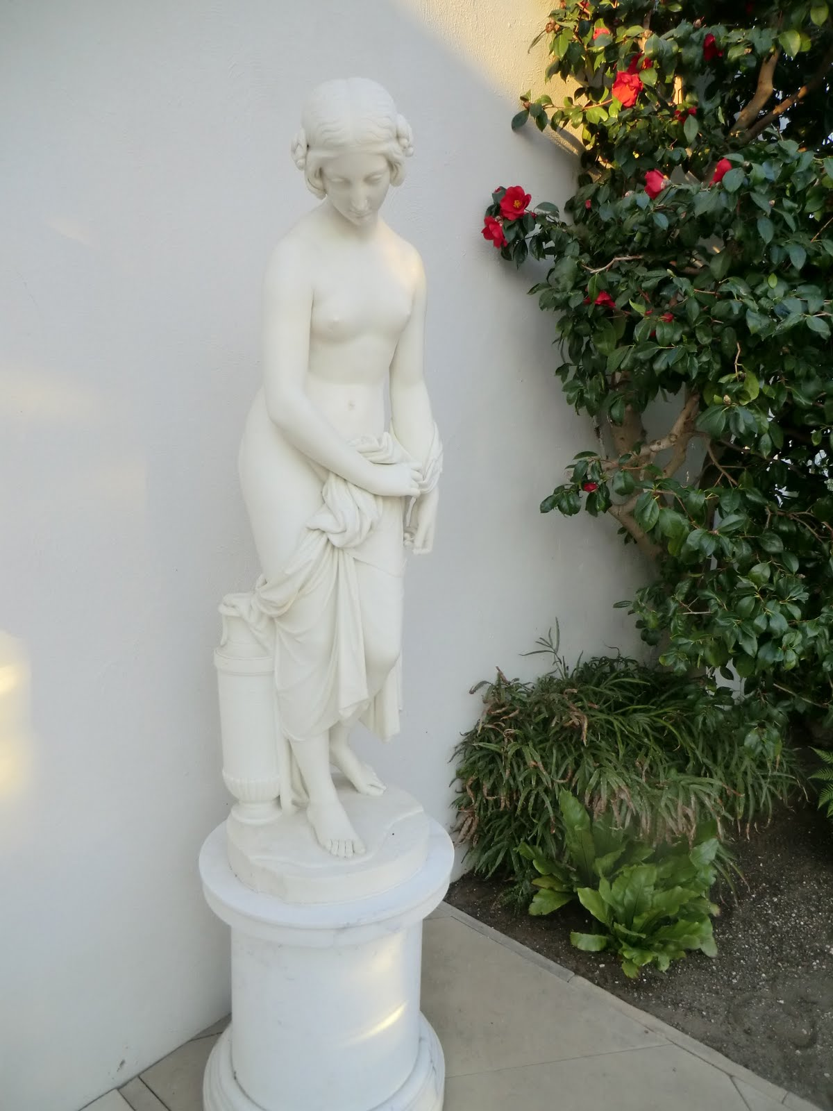 CIMG2412 Statue in Conservatory, Chiswick House