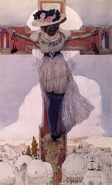 Gustave Adolphe Mossa - Mary de Magdala