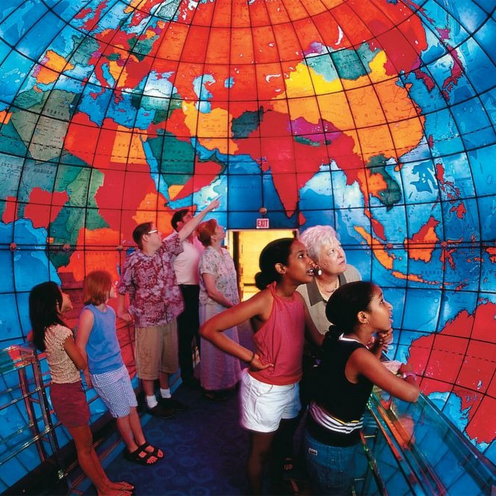Mapparium: The World's Only Inside-Out Globe
