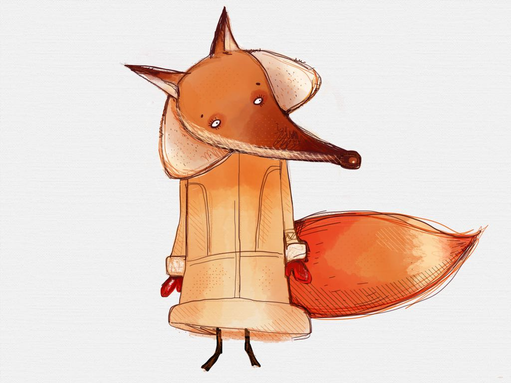 foxy made with Sketches