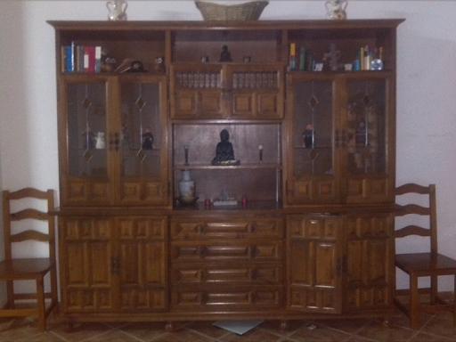 mueble de madera rustico perfecto