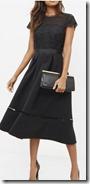 Ted Baker Lace Bodice Midi Dress
