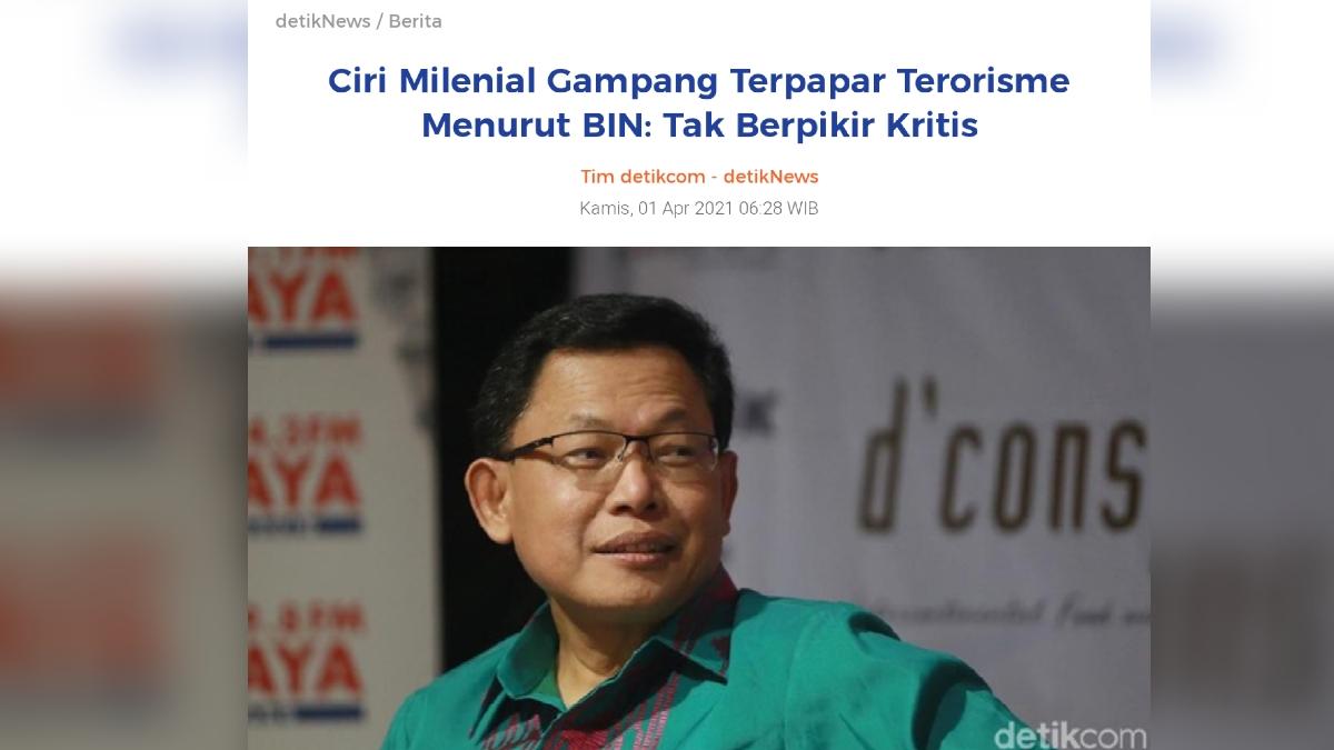 Netizen Galau, Tidak Kritis Bisa jadi Teroris, Berpikir Kritis Kena UU ITE