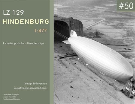 Hindenburg Papercraft