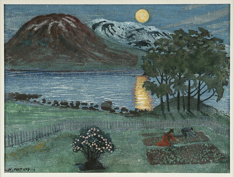 Nikolai Astrup - May Moon