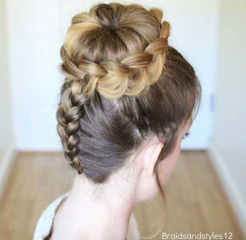 The Trendy Bun Hairstyles For Casual And Formal In Current Year 2017 2