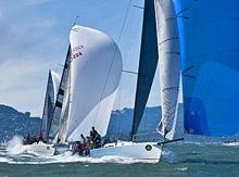 J/125s blasting to victory in IRC C Rolex Big Boat Series- Erik Simonson/ H2oshots.com