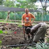 Aanpasing tuin