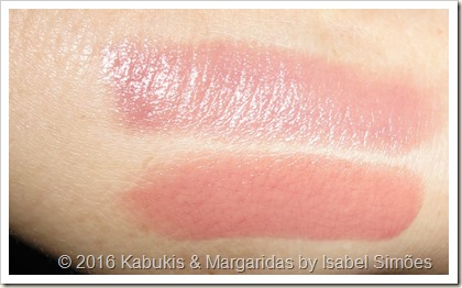 Batons Longlasting #3 Come Naturally e #05 Cool Nude da Essence