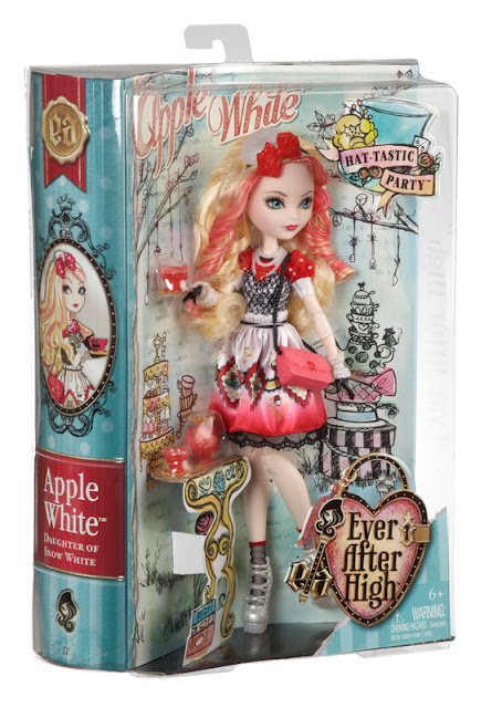 Búp bê có khớp Ever After High Apple White