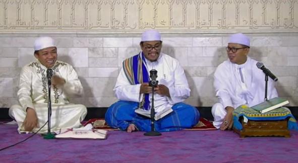 Via Live Streaming, Bupati Sudian Gelar Peringatan Nuzulul Quran