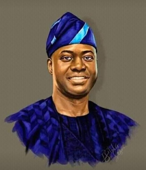 Seyi makinde is  tested positive for Corona virus today.