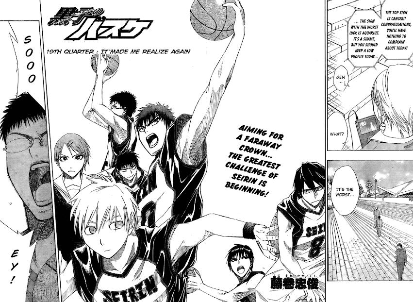Kuruko no Basket Manga Chapter 19 - Image 02-03