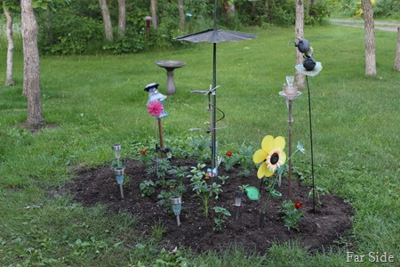 Flower Garden Planted June 2