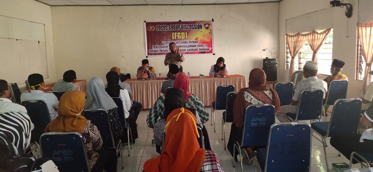 Sat Binmas Polres Soppeng Gelar FGD Dalam Rangka Beri Edukasi Kepada Masyarakat