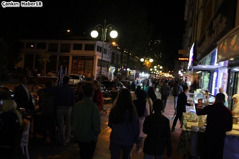 Çankırı Ramazan Akşamları,Çankırı cadde ve sokaklarında ramazan akşamları,Çankırı'da ramazan,