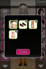 Click to Enlarge - Style Me Girl  Level 10 - Fairytale - Isabella - Closet