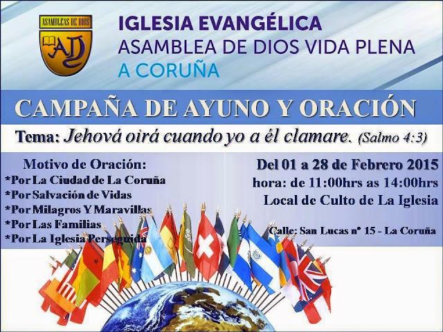 Missionário Anderson Melo realiza Campanha de Oração na Espanha